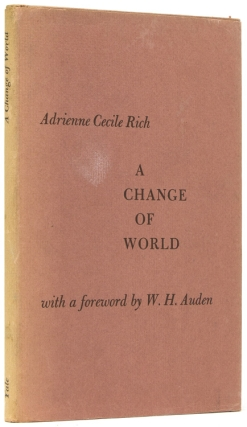 A Change of World. With a foreword by W. H. Auden