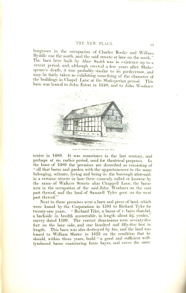 An Historical Account of the New Place, Stratford-Upon-Avon, the Last Residence of Shakeseare