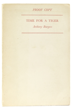 Times for a Tiger. Anthony Burgess