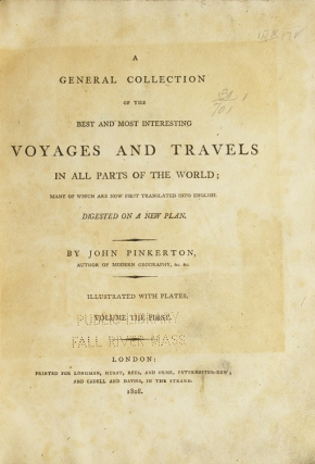 A General Collection of the Best and Most Interesting Voyages and Travels … Asiatic Islands