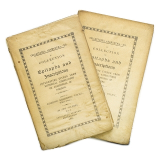 A Collection of Epitaphs and Inscriptions Interesting Either from Historical Associations or...