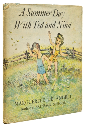 A Summer Day with Ted and Nina. Marguerite De Angeli