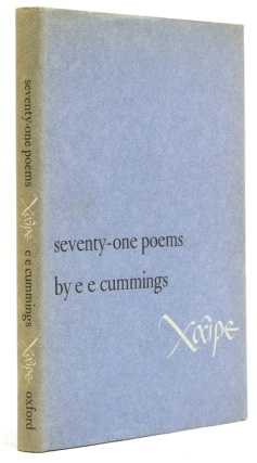 Xaipe seventy-one poems. E. E. Cummings