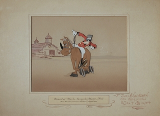"Animation Cel, ""How to Ride a Horse,"" from The Reluctant Dragon. Walt Disney."