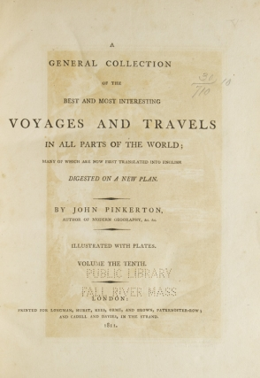 A General Collection of the Best and Most Interesting Voyages and Travels ... Africa