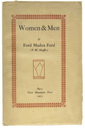 Women & Men. Ford Madox Ford, F. M. Hueffer