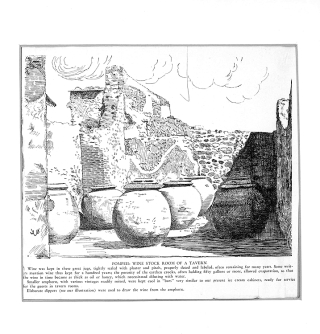 29 Original Ink and Pencil Drawings for Apicius: Cookery and Dining in Ancient Rome. A Bibliography, Critical Review and Translation. Depicting Ancient Stoves, Cooking Utensils, Interiors, Serving Dishes, etc