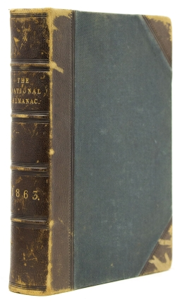The National Almanac and Annual Record for the Year 1863. Civil War