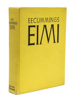 Eimi. E. E. Cummings
