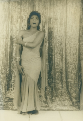 "Portrait photograph of Gloria Davy as Aida, Act I, Scene I, ""Ritisma Vincito"". Gloria Davy,..."