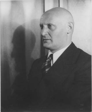 Portrait photograph of I.J. Singer. I. J. Singer, Carl Van Vechten, photographer