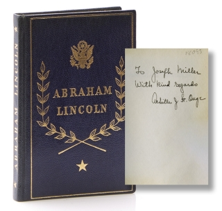 Selections from His Writings. Foreword by Carl E. Wahlstrom. Abraham Lincoln