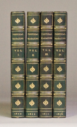 The Poetical Magazine. Volumes One through Four