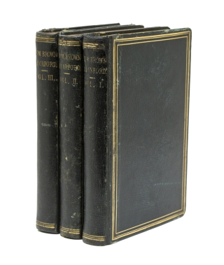 """Tom Brown at Oxford. By the author of """"Tom Brown's School Days."""" In Three Volumes"""