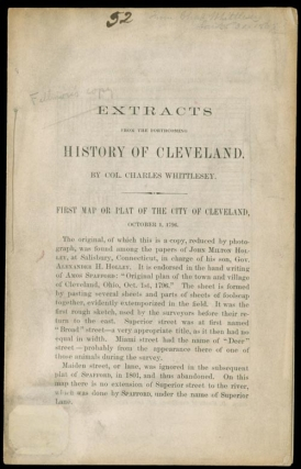 Extracts from the Forthcoming History of Cleveland. Millard Fillmore, Col. Charles Whittlesey.