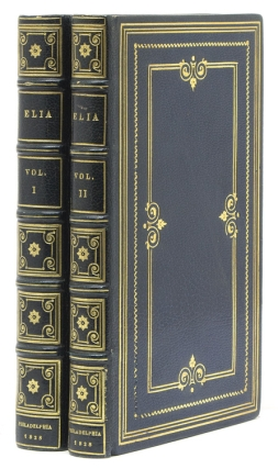 Elia. Essays which have appeared under that signature in the London Magazine [with] Elia. ...