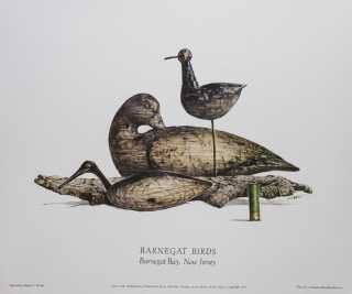 Classic Shorebird Decoys: A Portfolio of paintings by Milton C. Weiler, Text by William J....